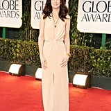 Kristen Wiig at the Golden Globes.