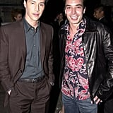 Keanu Reeves and Jimmy Fallon, 2000