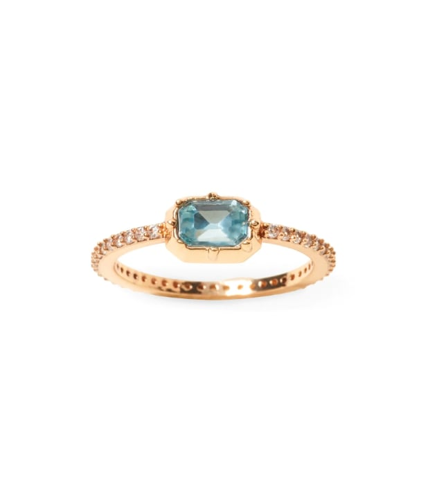 Brilliant Gemstone Ring