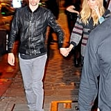 Kate Hudson and Matt Bellamy were out in Paris.