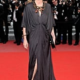 Kristin Scott Thomas looks smokin' in Lanvin.