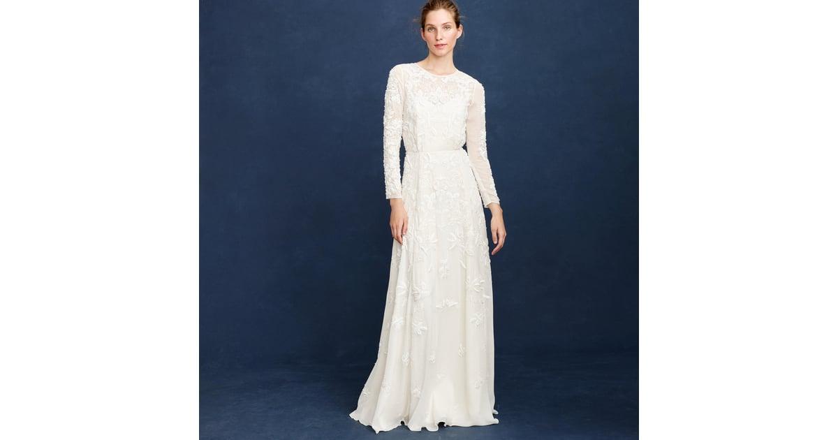 J.Crew Florence gown ($1,900, originally $2,650)   J. Crew Wedding ...