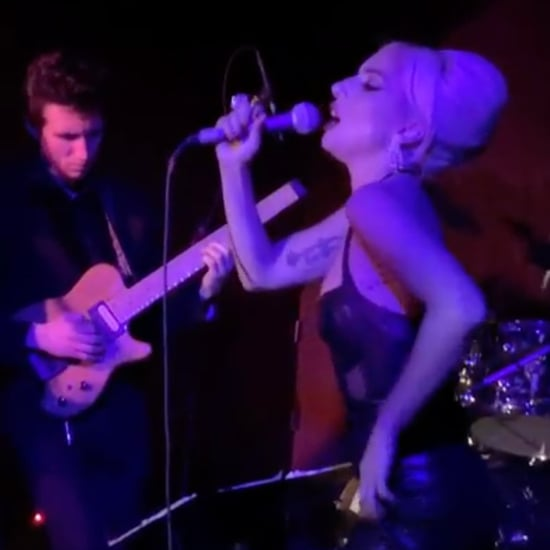 Lady Gaga Singing Frank Sinatra at LA Bar Videos March 2019