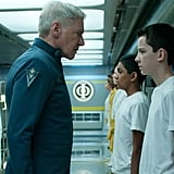 Ender's Game  What it's about: A teen boy, Ender (Asa Butterfield) has been selected to lead humankind to fight against aliens in this futuristic action film, based on a YA novel.   Why we're interested: Harrison Ford plays Ender's mentor Colonel Graff — come on, any time Ford goes to space, it's magic.  When it opens: Nov. 1 Watch the trailer for Ender's Game.
