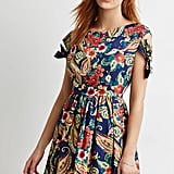 FOREVER 21 Paisley Floral A-Line Dress