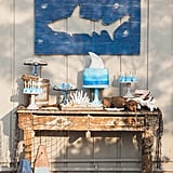 Shark-Themed Birthday Party by Jenny Cookies
