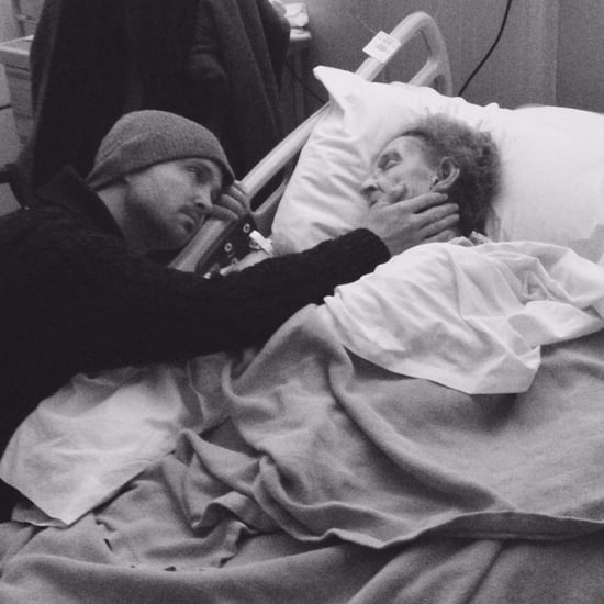 Aaron Paul's Instagram Photo With His Grandmother 2016