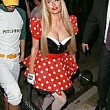 Paris Hilton as Minnie Mouse