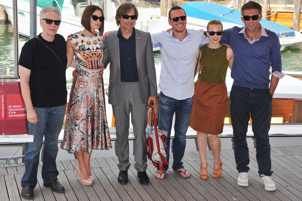 The cast of A Dangerous Method arrived to the Venice Film Festival premiere.