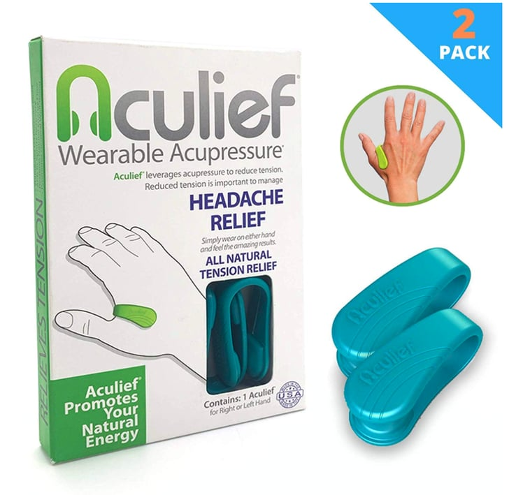 Aculief | Relieve Head and Muscle Tension With Wearable ...