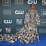 Cynthia Erivo at the 2020 Critics' Choice Awards
