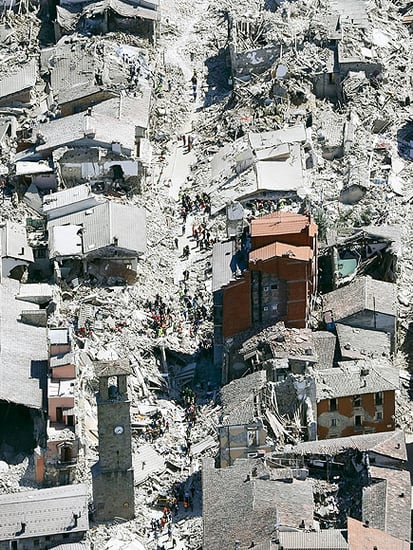Italy Earthquake Destroys Small Towns as Death Toll Rises to 120