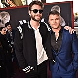 Luke and Liam Hemsworth at Westworld Season 2 Premiere
