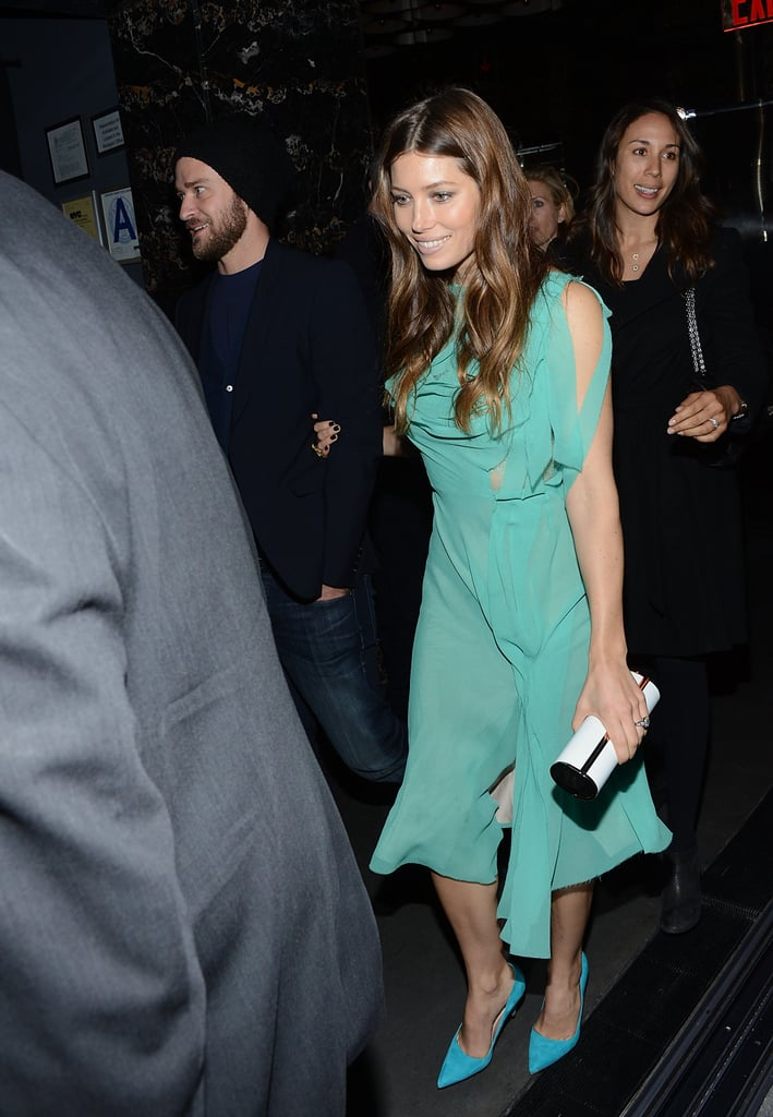 Justin and Jessica attended The Cinema Society's screening of Playing For Keeps in Dec. 2012 in NYC.