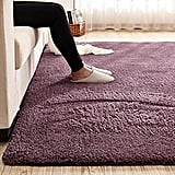 Super Soft Gary Purple Area Rug Kids Rugs Artic Velvet Mat (From $16)