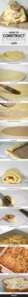How to Construct Cinnamon Rolls
