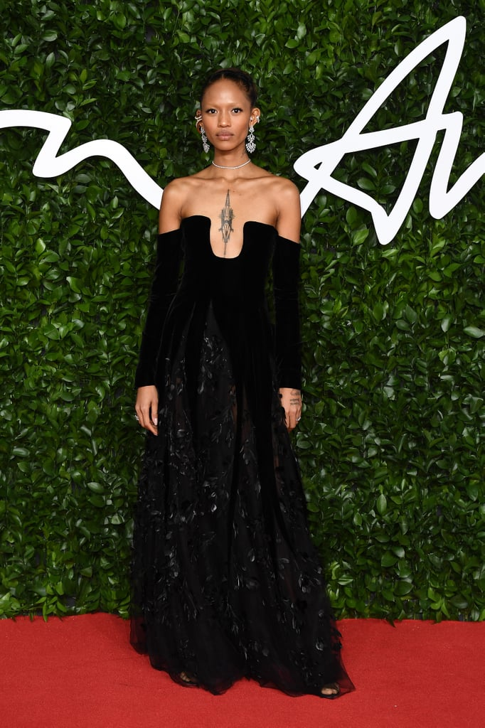Adesuwa Aighewi at the British Fashion Awards 2019
