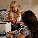 We see those printed pants, Hanna. And we love 'em!