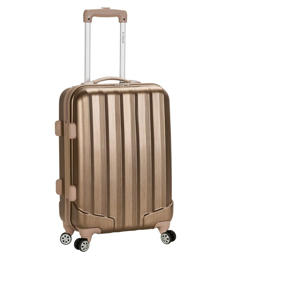 "Rockland Melbourne 20"" Expandable ABS Carry-On Suitcase"