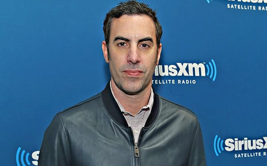 FROM EW: Sacha Baron Cohen Says Audiences Have Been Applauding Donald Trump HIV Joke