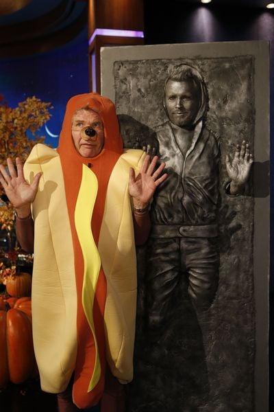 Jimmy Johnson Halloween Costume