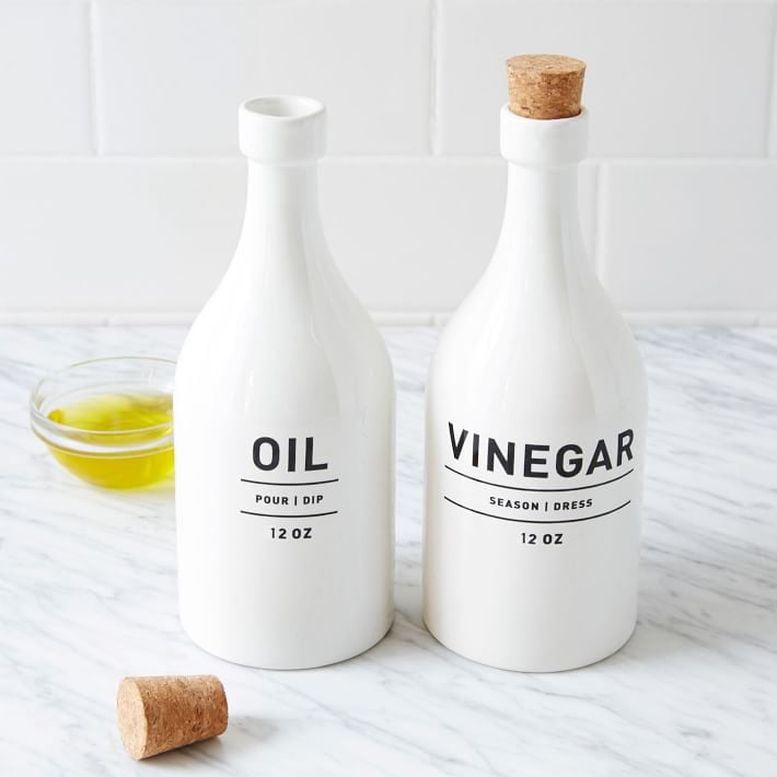 West Elm Utility Oil & Vinegar Set