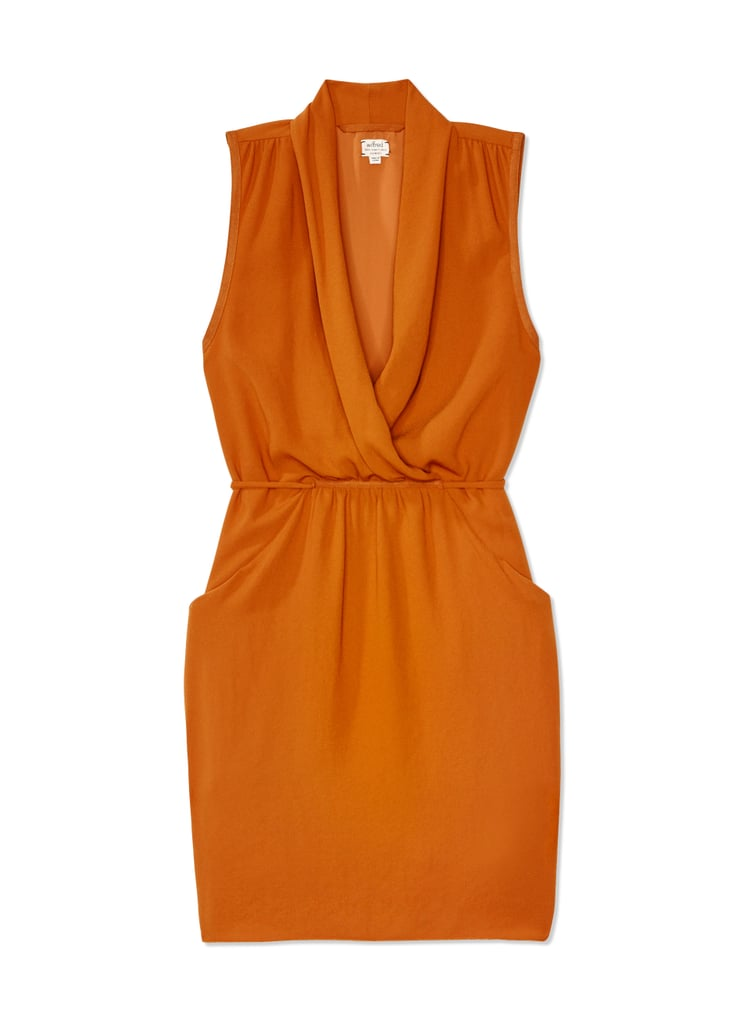 Aritzia Wilfred Orange Sabine Dress ($83, originally $165)