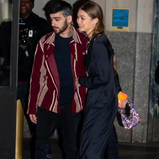 Gigi Hadid's Silver Mini Bag With Zayn on His 27th Birthday