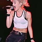 Gwen Stefani With Light Blond Hair