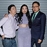 Ken Jeong, Awkwafina, and Nico Santos