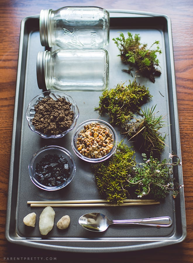 Diy A Moss Terrarium 30 Clever Ideas For Outdoor Play