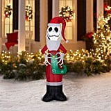 Holiday Time Jack Skellington Nightmare Before Christmas Inflatable