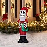 Holiday Time Jack Skellington Nightmare Before Christmas Inflatable