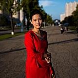 On a Boulevard in Pyongyang