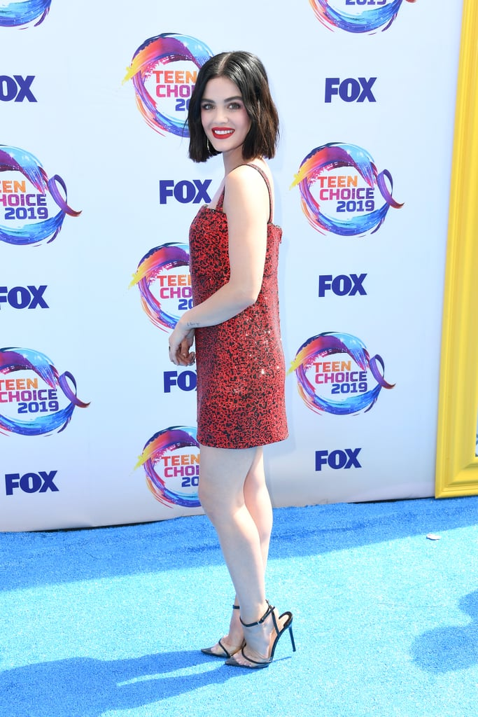 Lucy Hale at the 2019 Teen Choice Awards