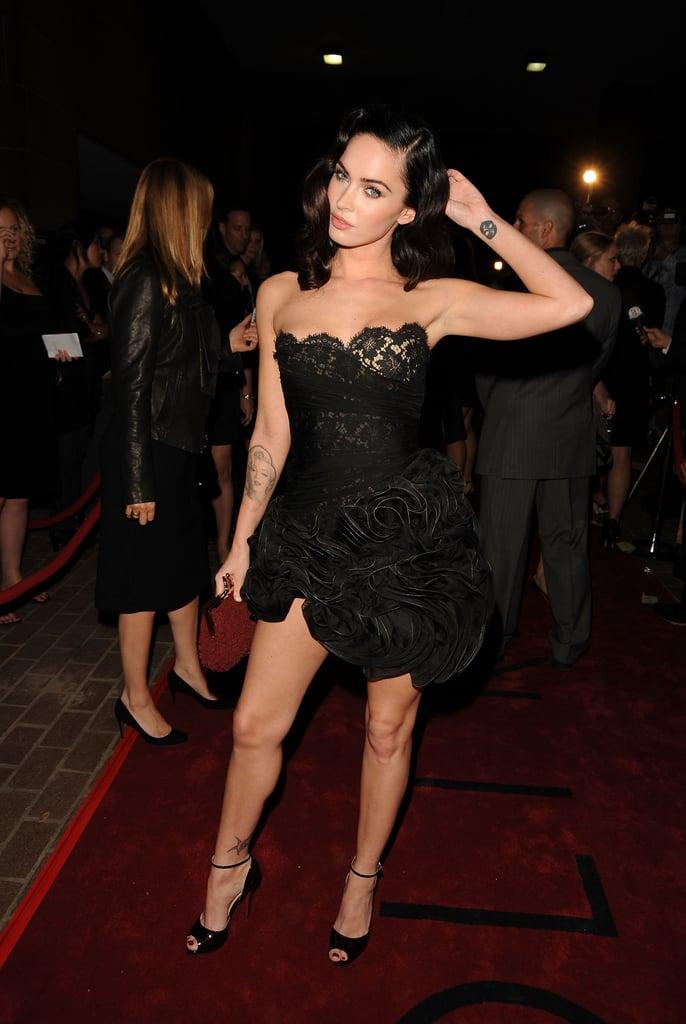 Sexy Megan Fox Pictures  Popsugar Celebrity Photo 36-4709