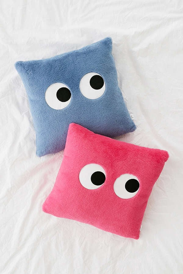 Throw Pillows Urban Outfitters : Urban Outfitters Googly Eyes Plush Throw Pillow Best Gifts For Women 2017 POPSUGAR Fashion ...