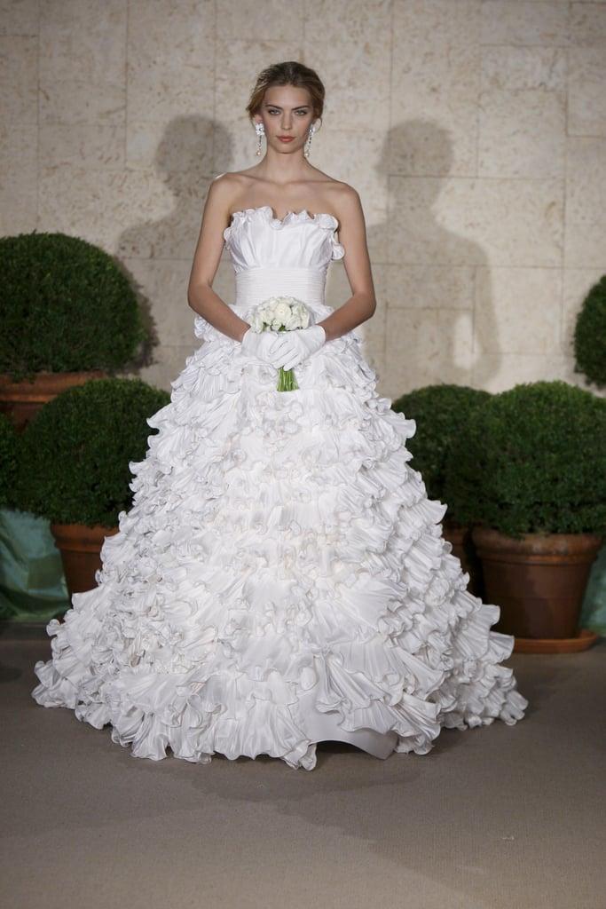 Oscar de la Renta Bridal Spring 2011