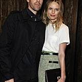 Michael Polish and Kate Boworth checked out the Proenza Schouler store opening.