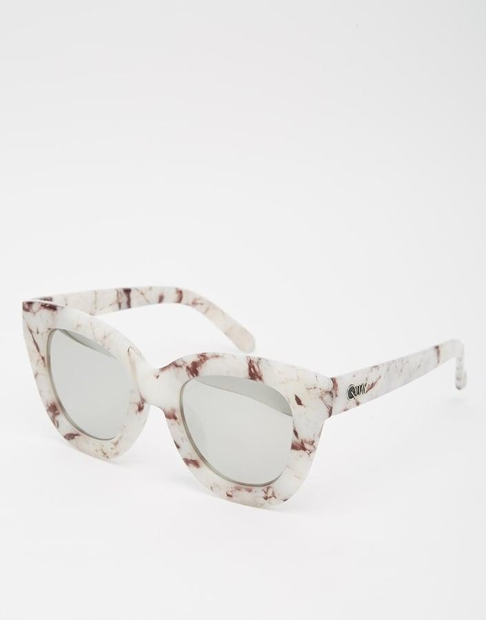 Quay Australia Sugar & Spice Mirror Cat Eye Sunglasses ($50)