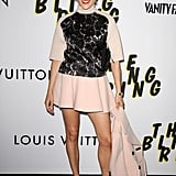 Chloë Sevigny appeared at the Bling Ring premiere in LA.