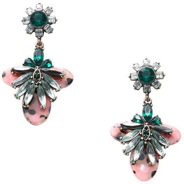 Mango Faceted Crystal Earring (£16)