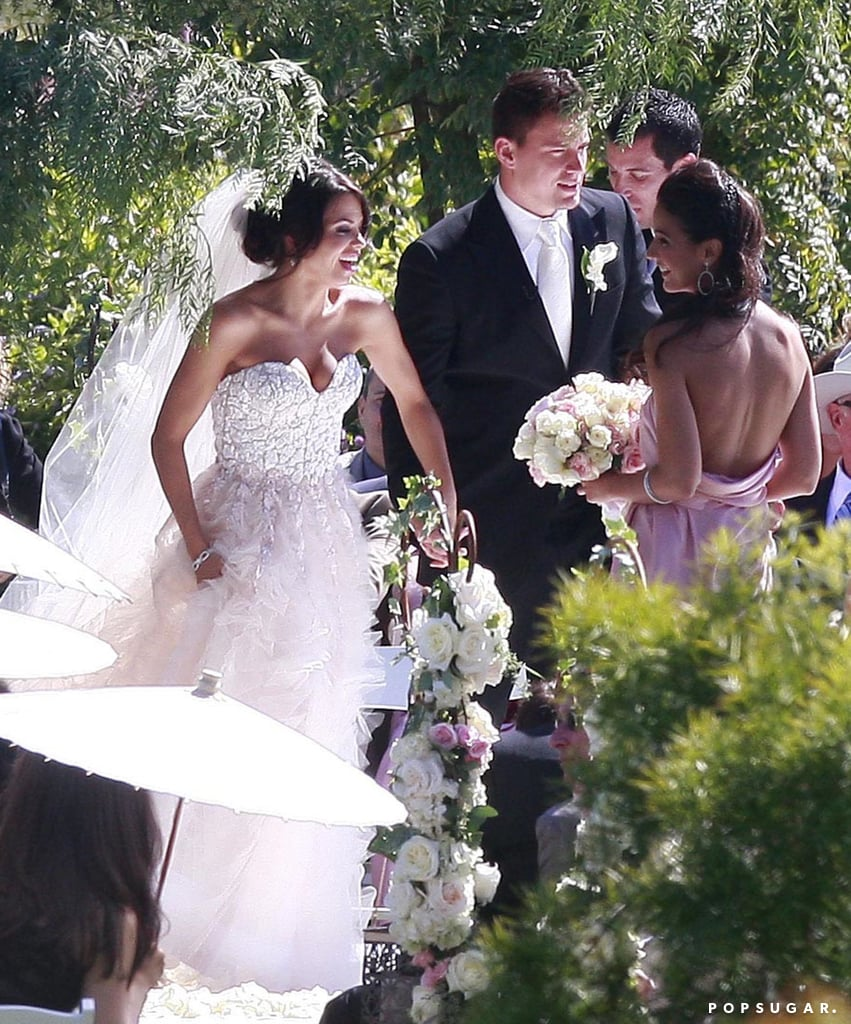 Jenna Dewan's Wedding Dress