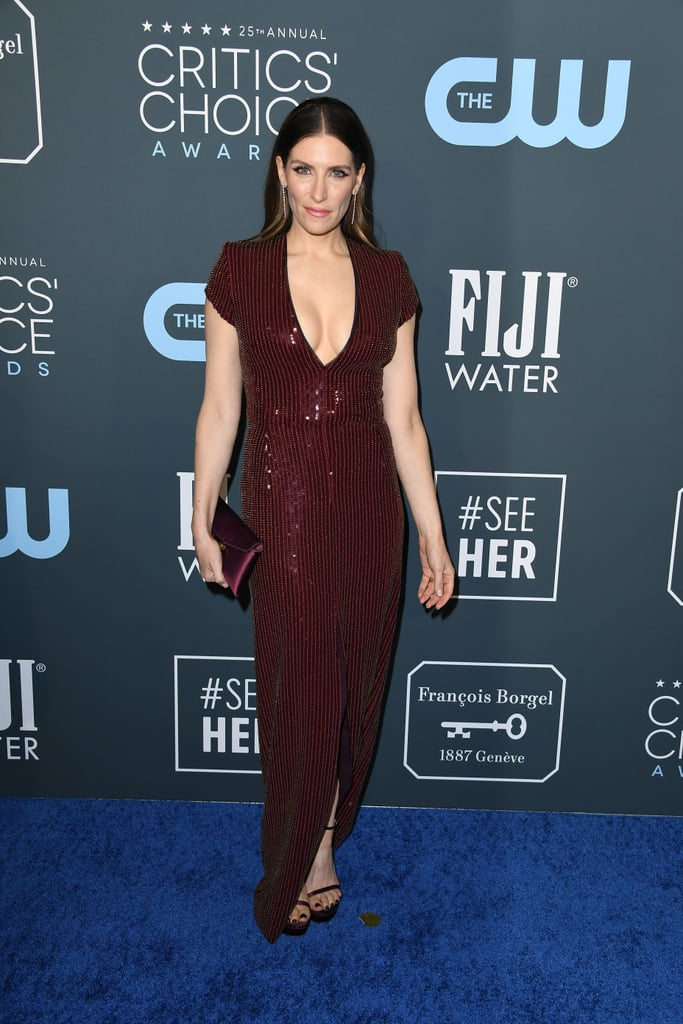 Sarah Levy at the 2020 Critics' Choice Awards