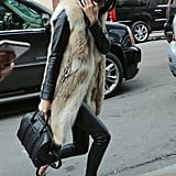 Finish Off a Sleek Look With a Long Vest to Keep Thing Covered