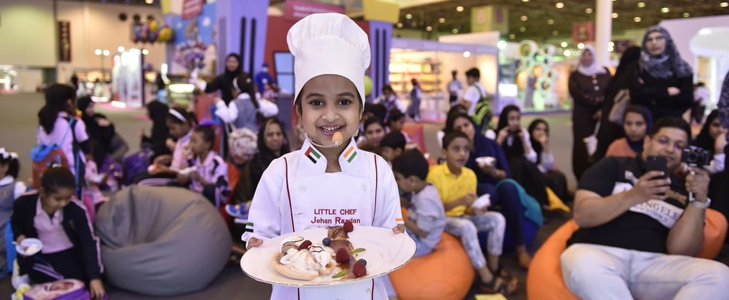 5-Year-Old Abu Dhabi Chef Jehan Razdan