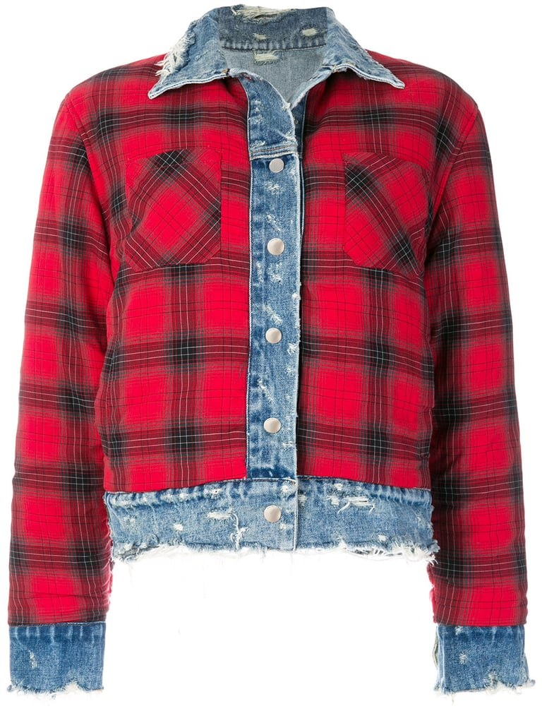 Amiri Plaid Jacket