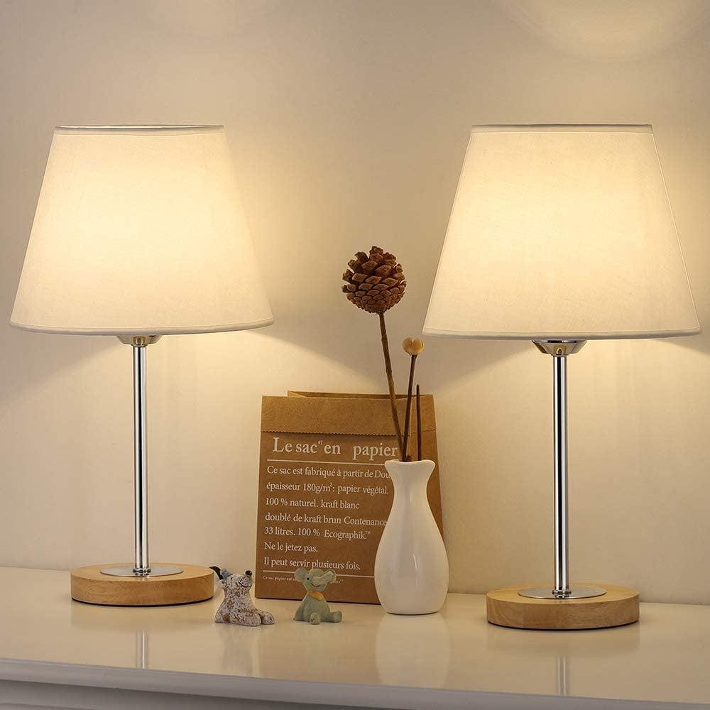 Oumilen Small Table Lamps Set