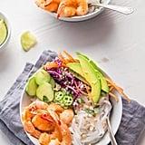Shrimp Spring Roll Noodle Bowls