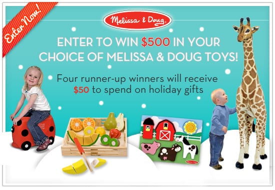 Melissa & Doug Holiday Toy Giveaway ($500 Value)!